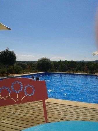 Can Patiras: duik in het zwembad