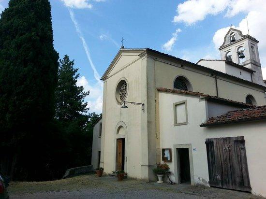 Terranuova Bracciolini, Italy: Facciata della Chiesa