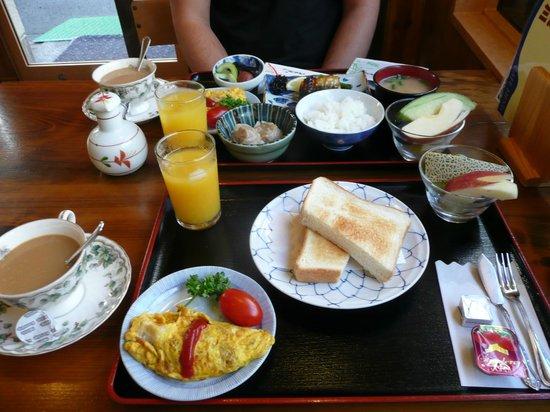 Ryokan Kamogawa : Desayuno occidental