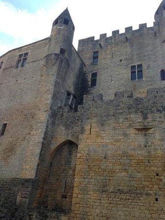 La Roche Berthault : la partie du 12 eme siècle