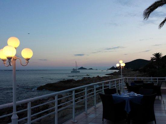 Hotel Dolce Vita : dinner in the evening