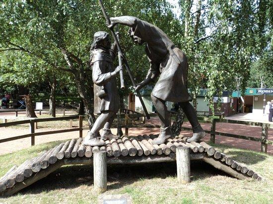 Sherwood Forest: Robin and Little John
