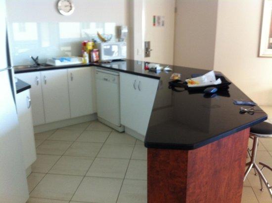 Peninsular Beachfront Resort : Large Kitchen Unit 66
