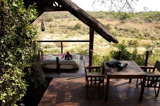 Jock Safari Lodge: Daybed views