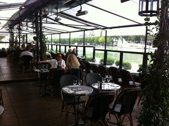 MK2 Cafe: la terrasse
