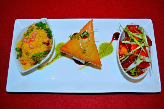 Melam South Indian Restaurant: veg starters