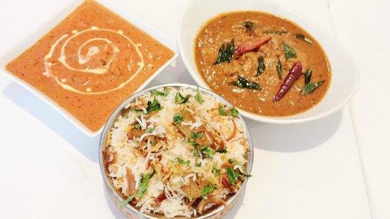 Melam South Indian Restaurant: main course