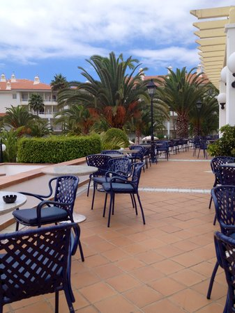 Hotel Riu Arecas: Terrace (Bar)