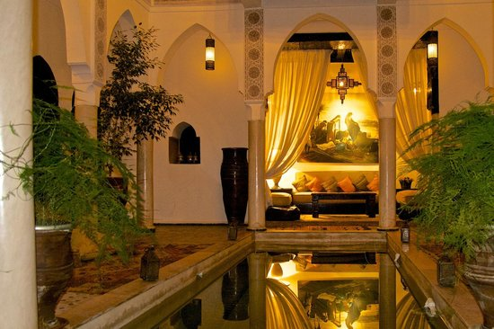 Riad Andalouse: La piccola piscina