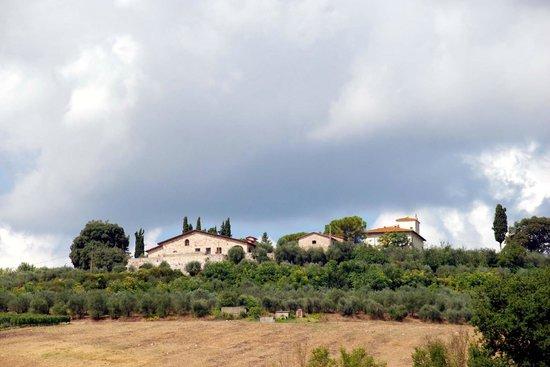 Azienda Agricola Cercignano: Panorama di Cercignano, Colle di Val D'Elsa (SI)