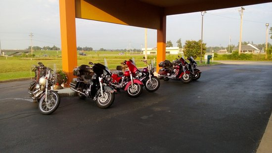 BEST WESTERN Paducah Inn: We love Bikers!