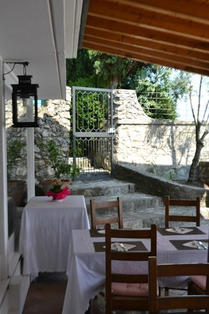 Albergo Ristorante San Michele: Terrazza