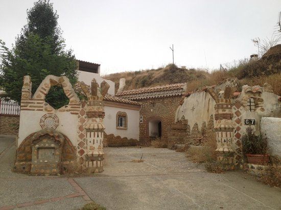 Visita Guadix: maison