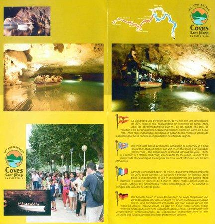 Coves de Sant Josep: Folleto 02