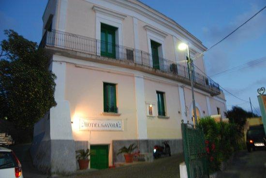 Savoia Hotel: Facciata dell'hotel