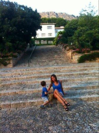 Formentor, a Royal Hideaway Hotel: большой парк