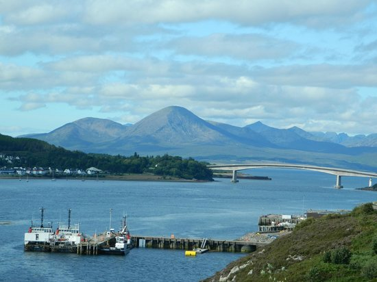 The Old Bank House: Kyle of Lochalsh