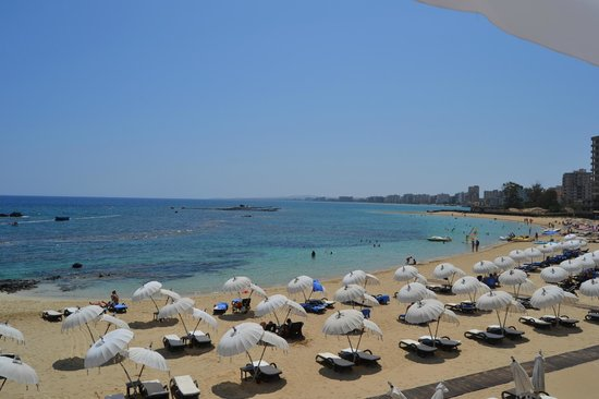 Arkin Palm Beach Hotel: vista mare dalla camera