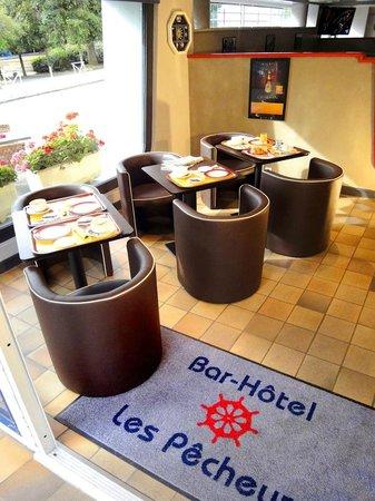 Hotel Les Pecheurs : Petit-déjeuner copieux