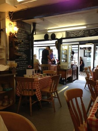 Emporium Tea Room: it's a cozy little eating place off the Main Street