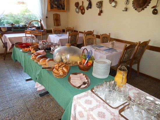 Hotel Walida : le buffet de petit déjeuner