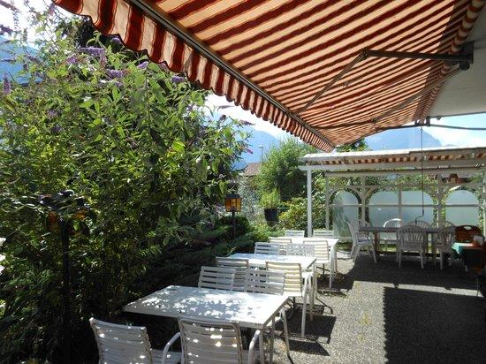 Hotel Walida : la terrasse de l'hôtel Walida