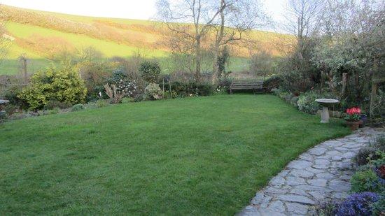 Combas Farm: Garden