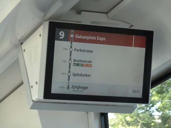 ibis budget Bern Expo: on tram, city is 5th stop (Zytglogge) from hotel (Guisanplatz, 10 mins)
