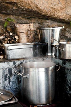 Restaurant Cornelius: Cooking