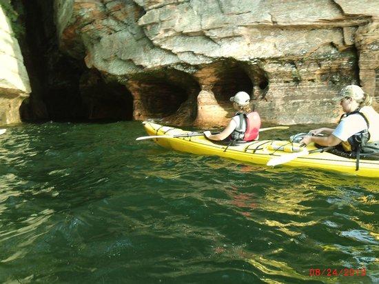 Lost Creek Adventures: sea cave