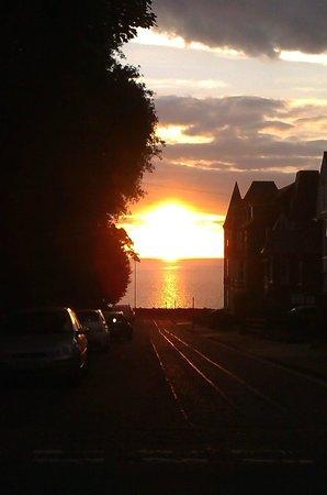 Sunset from The Sunset Inn