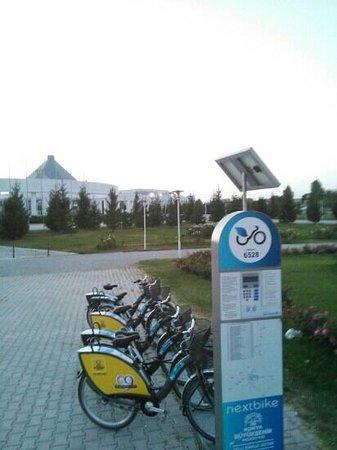 Hilton Garden Inn Konya: レンタサイクル