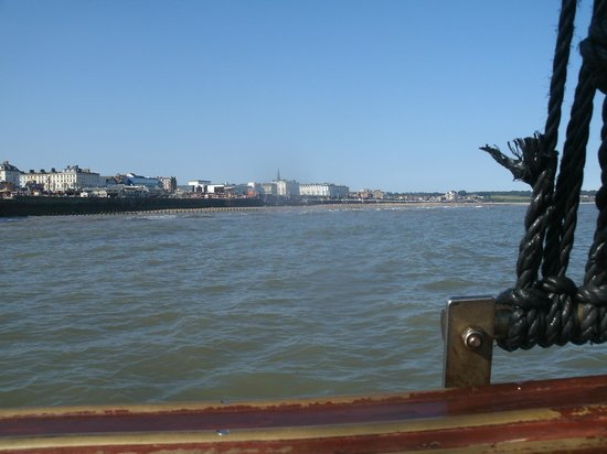 Bridlington Pirate Ship: View from the Pirate Ship