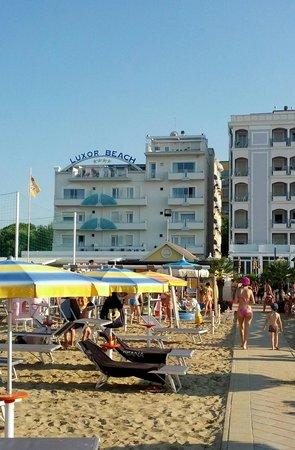 Hotel Luxor Beach: l'hotel e la sua vicinanza alla spiaggia!
