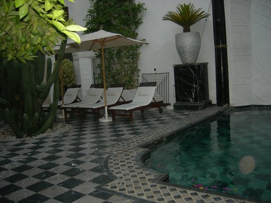 Riad Lotus Privilege: coin repos en plein air