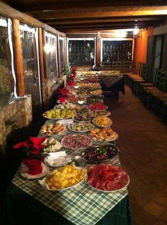 Il Casaletto: cena a buffet