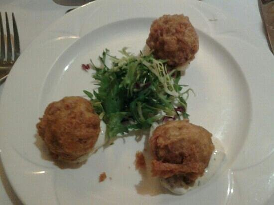 Glazert Country House Hotel: Haggis balls