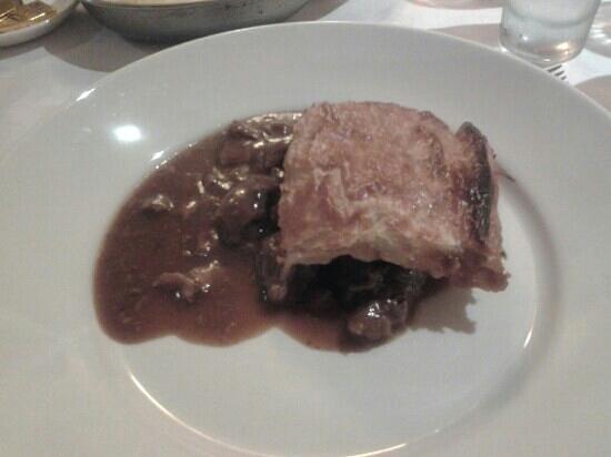 Glazert Country House Hotel: Steak pie