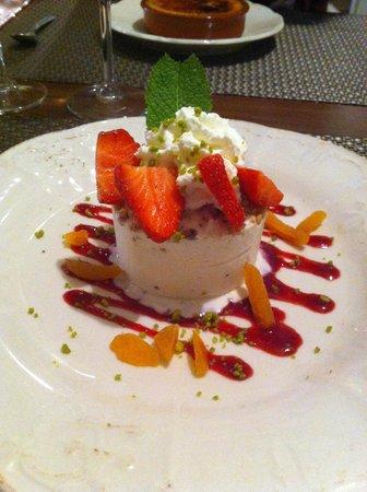 Hostellerie de Goujounac : Dessert