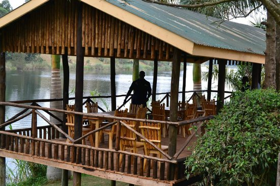 Bunyonyi Overland Resort: Relaxing Area