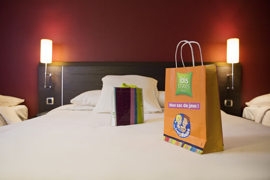 Ibis Styles Angouleme Nord : Chambre