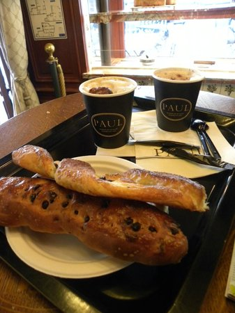 Boulangerie Paul : Torsade au chocolat