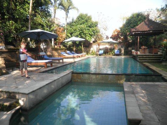 Alam Jiwa: Pool area