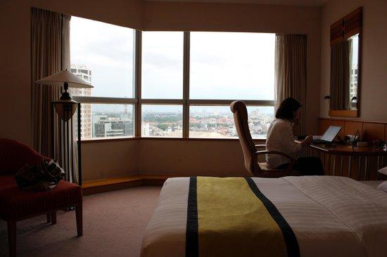 Melia Hanoi: 部屋からの眺望