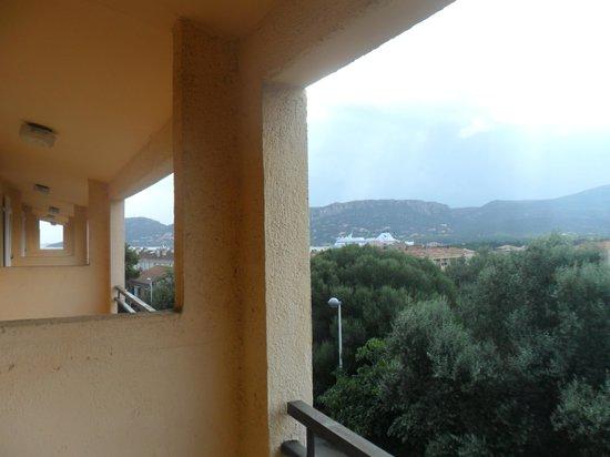 """Hotel Aiglon Bylitis : la famosa """"vista mare"""" dalla camera"""