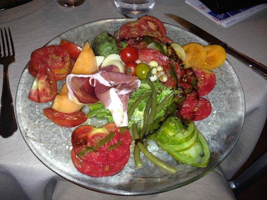 Auberge de Carcarille: Salade du chef