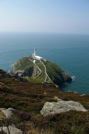 South Stack Cliffs RSPB Reserve: Another view of the light house