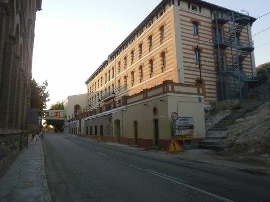 Balneario Termas Pallares - Hotel Parque: Entrada al Balneario