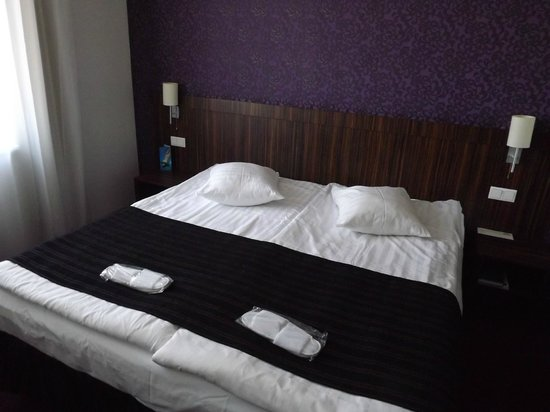Days Hotel Riga VEF : bed