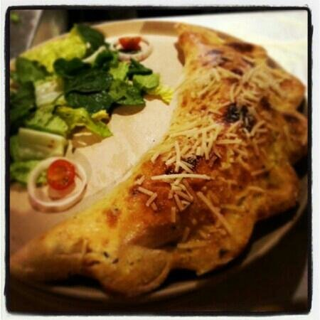 Wild Wood: Spicy meat calzone